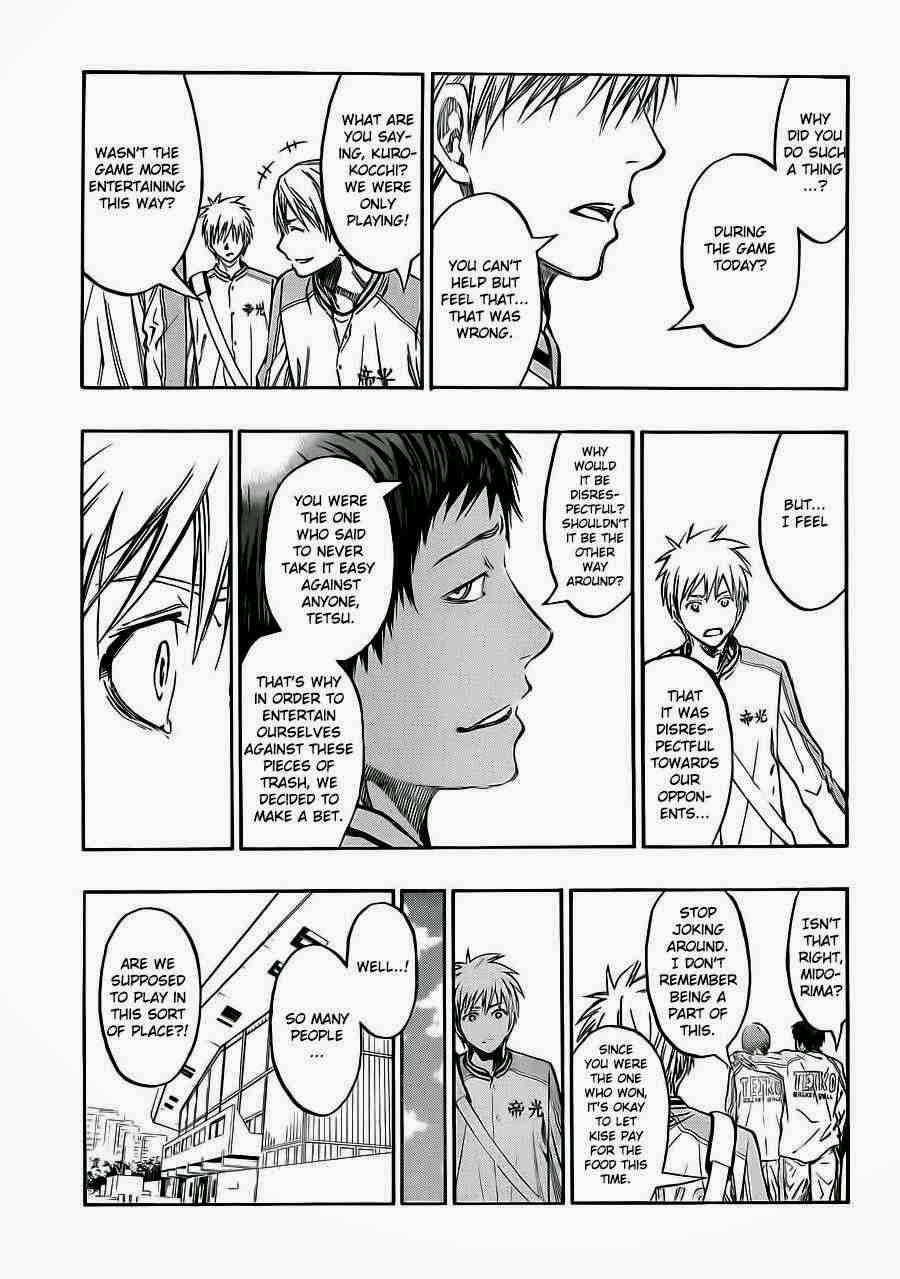 Kuroko no Basket Manga Chapter 224 - Image 13