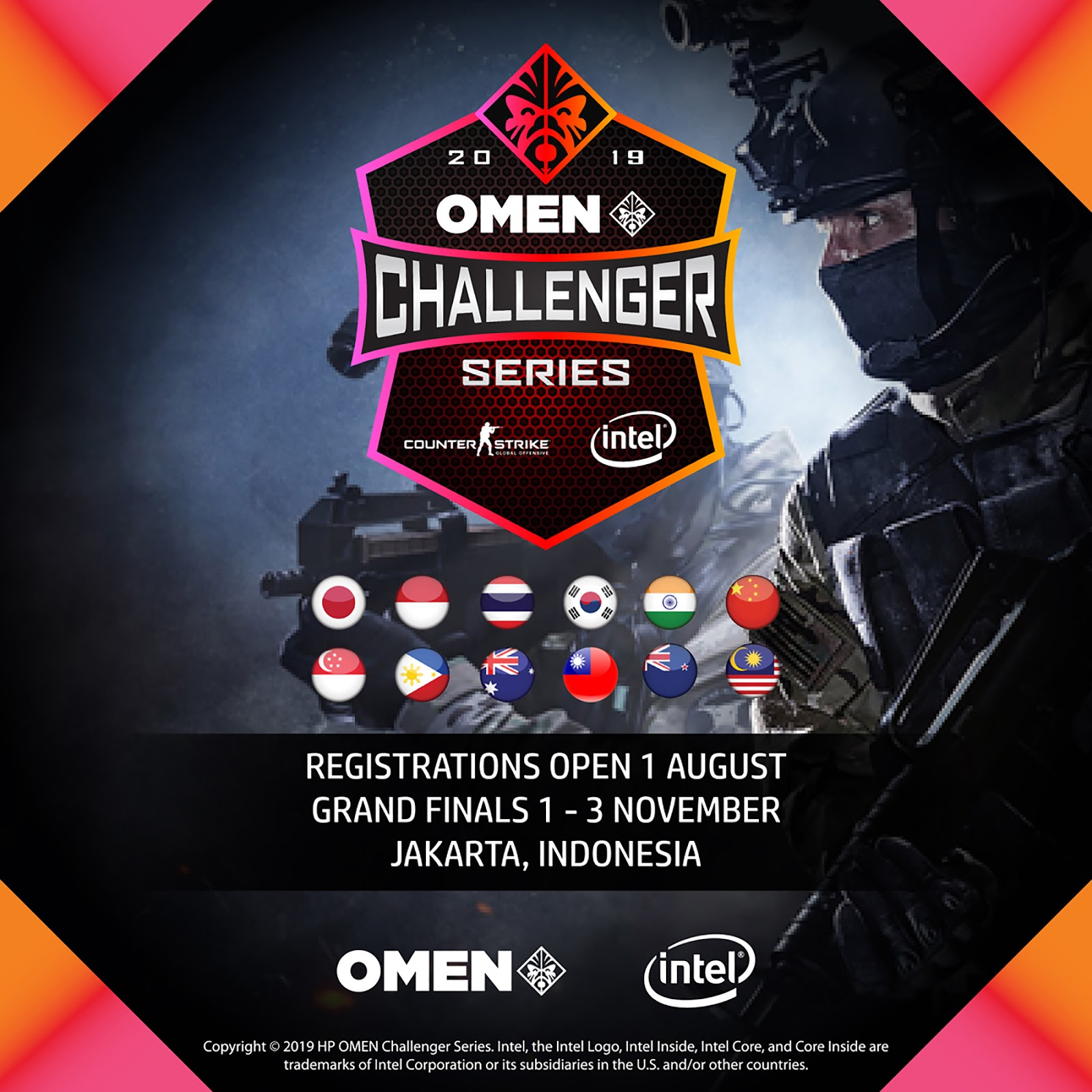 OMEN Challenger Series การแข่งขันอีสปอร์ตในภูมิภาคเอเชีย-แปซิฟิก กลับมาอีกครั้งในเกมการแข่งขัน Counter-Strike: GO และ DOTA 2 OMEN Challenger Series returns to Asia Pacific with Counter-Strike: GO and DOTA 2 Esports Tournament