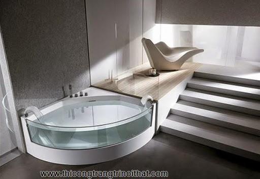 """18 chiếc bồn tắm cực """"cool"""" khiến bạn chìm đắm mãi không rời - Thi công trang trí nội thất-18"""