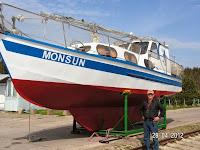 Jacht motorowy-żaglowy - 28012014