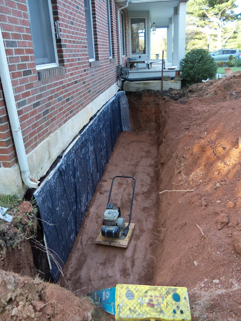 Water proofing archives demolition excavation svcs of for Best backfill material for foundation