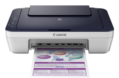 Printer Canon PIXMA E400 Series Full Driver and Software Package Download and install free