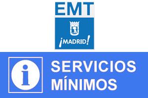 Nuevos paros en la EMT los días 4, 11, 17 y 23 de enero