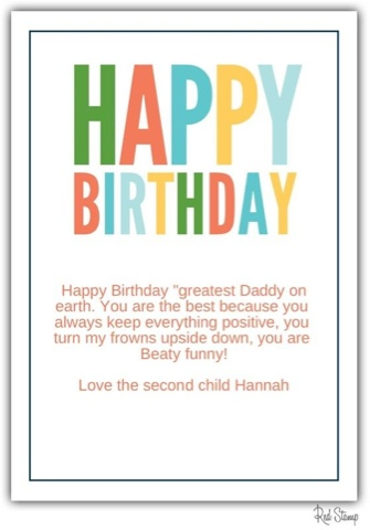 Brown Brown Happy Birthday Messages