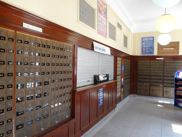 Eureka Springs post office interior