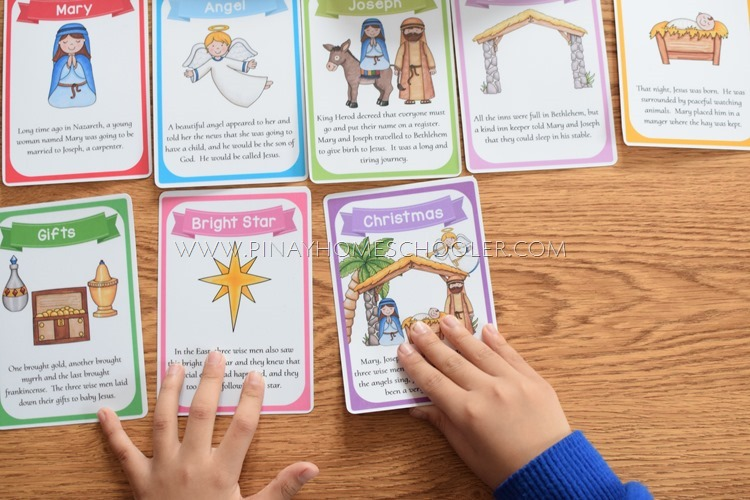 Christmas Nativity Printables, Story Cards, and Activity Sheets