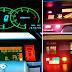 Tableros de autos en los 80's