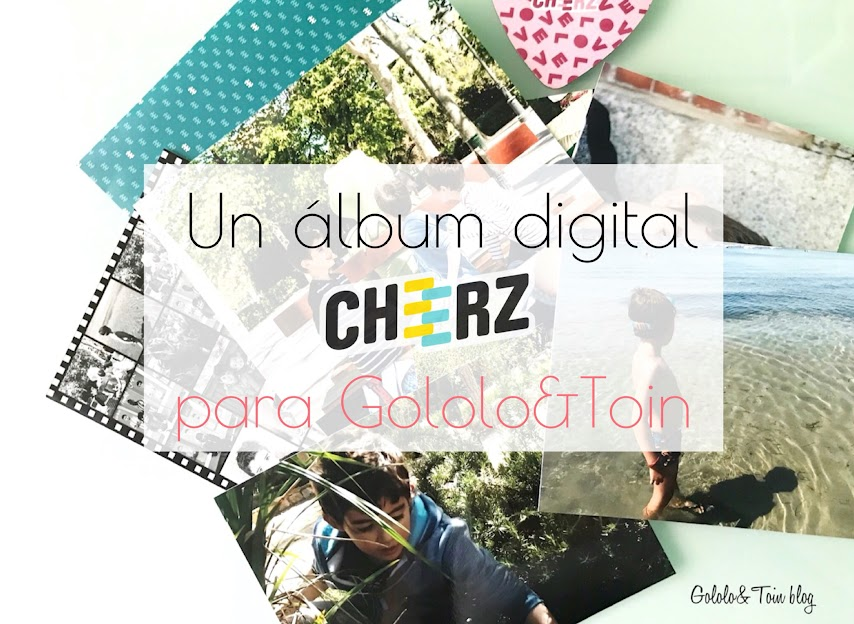 Un álbum digital Cheerz para Gololo y Toin