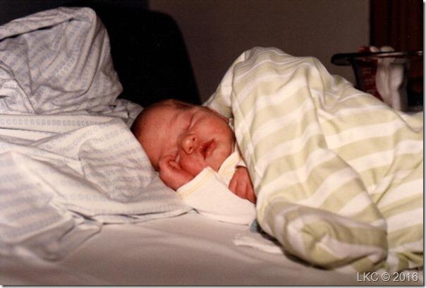 Søren nyfødt