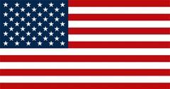 Bandera de Estados Unidos Actual