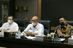 Wali Kota Medan Terima Kunjungan Bupati Nias Utara