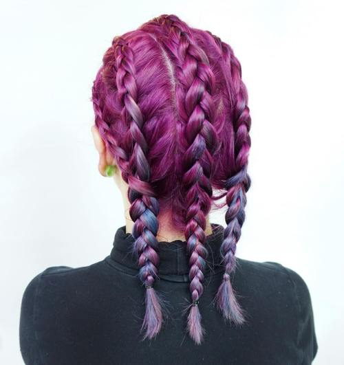 The Best Unboring Styles with Magenta Hair Color By Professional 2017 2