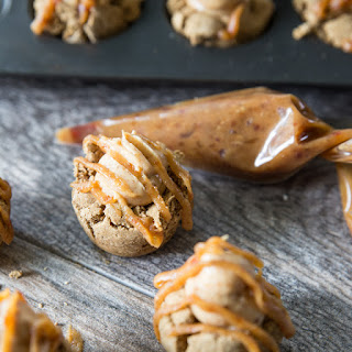 Gingerbread & Caramel Cream Cheese Cookie Cups