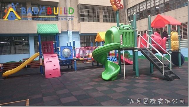 新北市板橋區新埔國中附設幼兒園兒童遊戲場