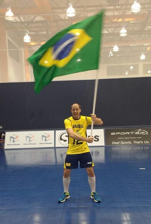 Brasil campeão panamericano de vôlei para surdos - Alexandre Dal Forno
