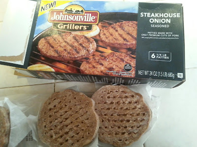 Johnsonville Grillers #lovecrowdtap sampling