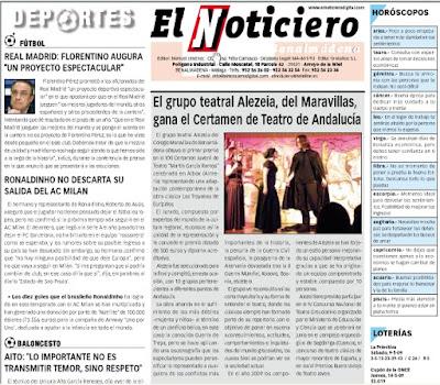 El noticiero (Benalmádena) 14 Mayo 2009