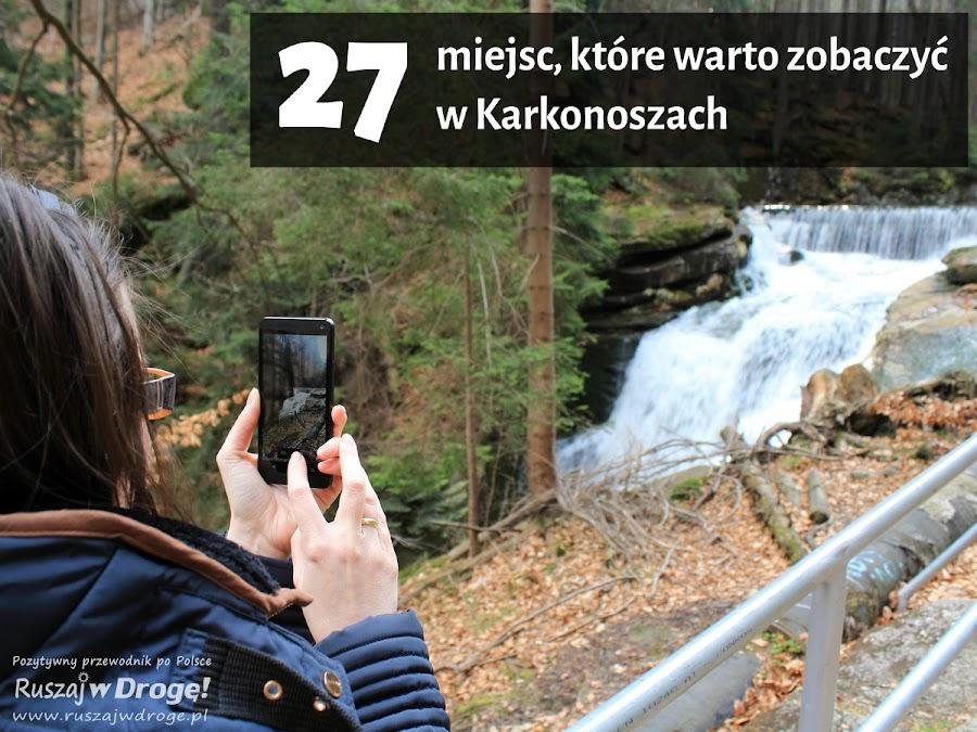 Co zobaczyć w Karkonoszach - Wodospad Szklarki