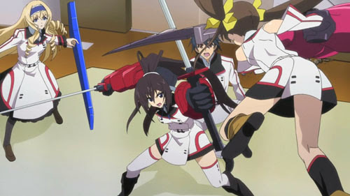 IS: Infinite Stratos 2