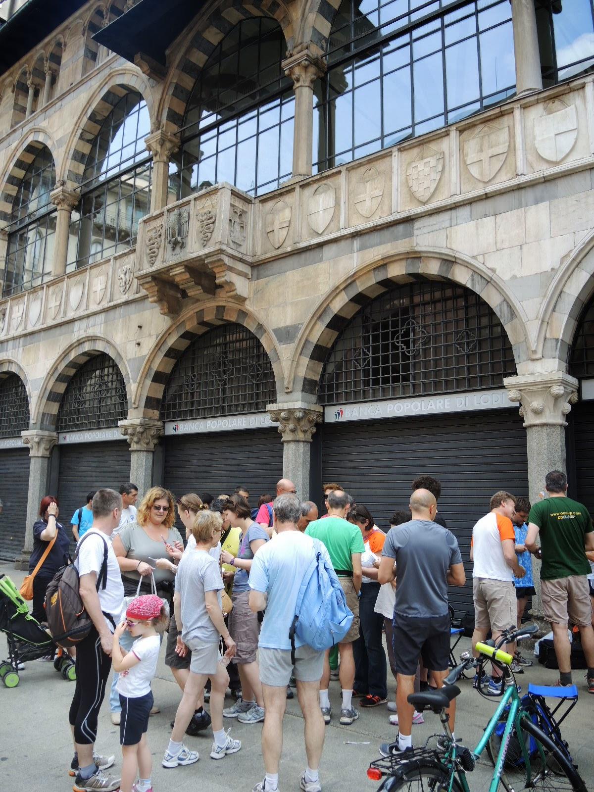 promozionale Orienteering (...matematico!!) in Centro storico a MILANO, a cura della a.s.d. Polisportiva PUNTO NORD (MB)