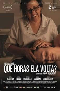 Baixar Filme Que Horas Ela Volta? (2015) Dublado Torrent Grátis