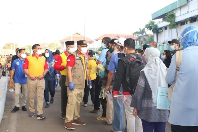 50.000 Peserta Vaksin Massal Kota Bekasi dinilai Lancar dan Sesuai dengan Protokol Kesehatan