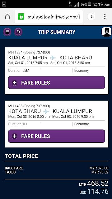 Malindo Air Tiket Semurah RM9. Betul ke?
