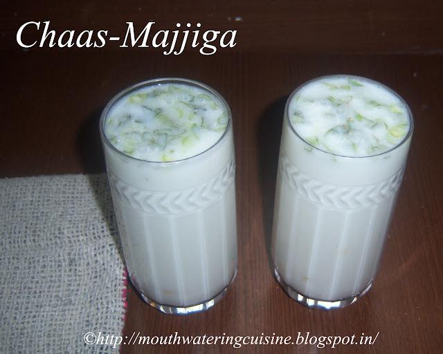 Chaas-Majjjiga