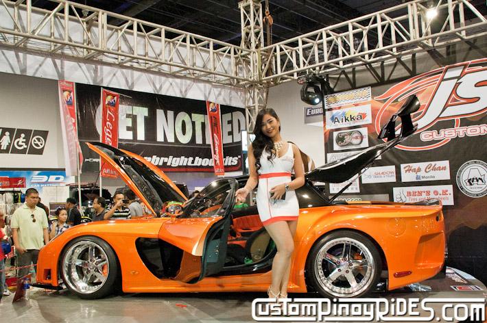 VEILSIDE FORTUNE MAZDA RX-7 TOKYO DRIFT JSK Manila Auto Salon Custom Pinoy Rides Philip Aragones pic7