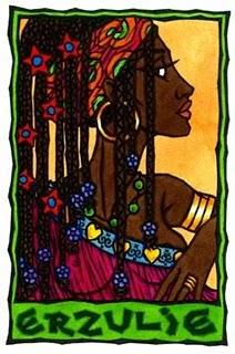 Goddess Erzulie Image