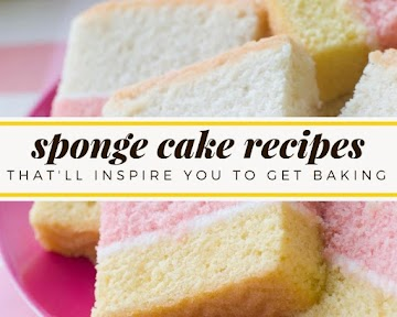 Sponge Cake Recipes That'll Inspire You To Get Baking