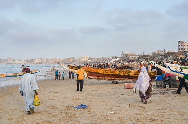 Fishing Boats at Dakar, Senegal