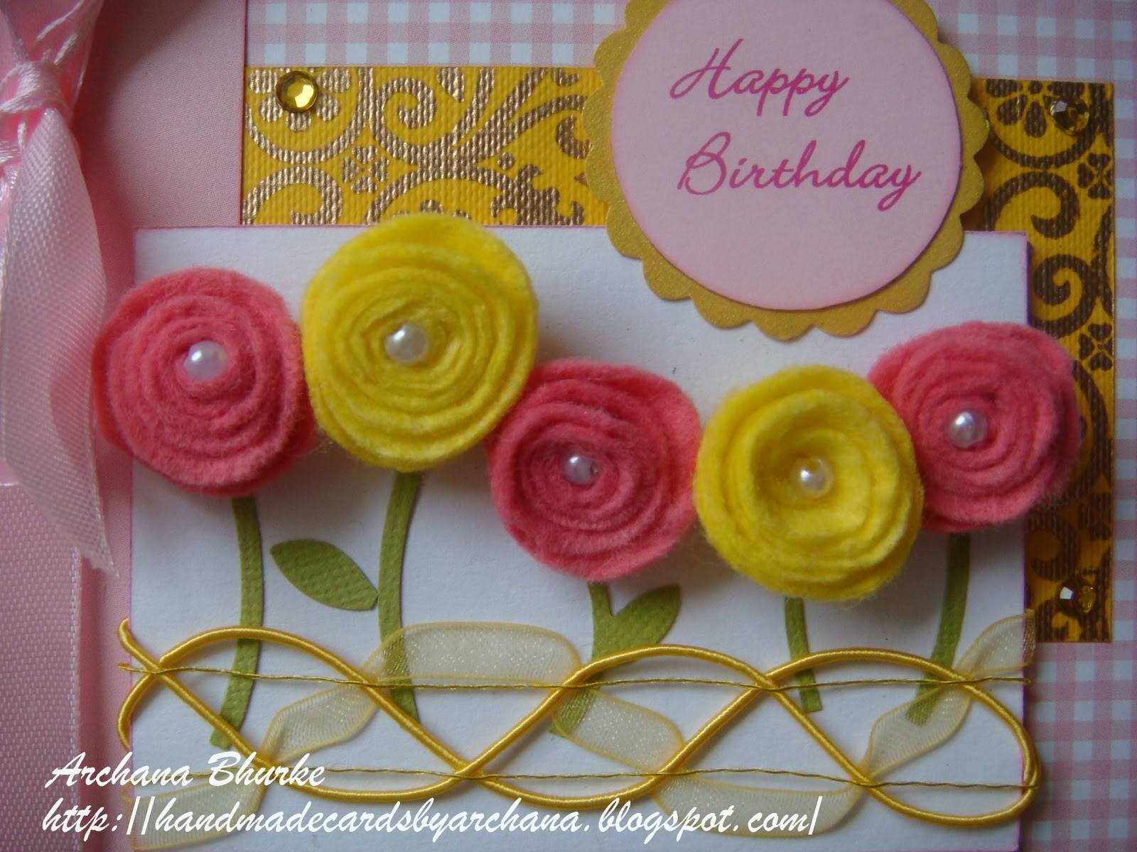 Handmade Cards by Archana: March 2011