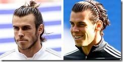 Gareth Bale Chin Length Hair Man Bun Headband Soccer Hairstyles