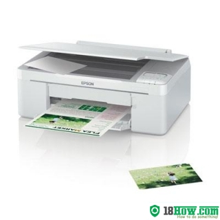 How to reset flashing lights for Epson ME-340 printer
