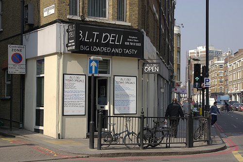 BLT Deli, Curtain Road Shoreditch