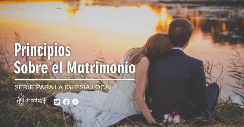principios sobre el matrimonio