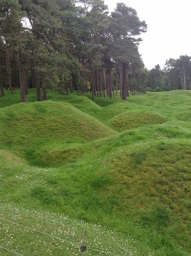 WWI battlefields of Vimy Ridge