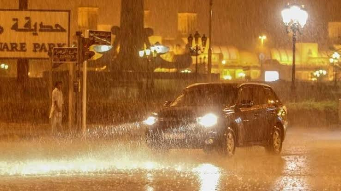 ARTIFICAL RAIN BRINGS RESPITE TO A SIZZELING UAE