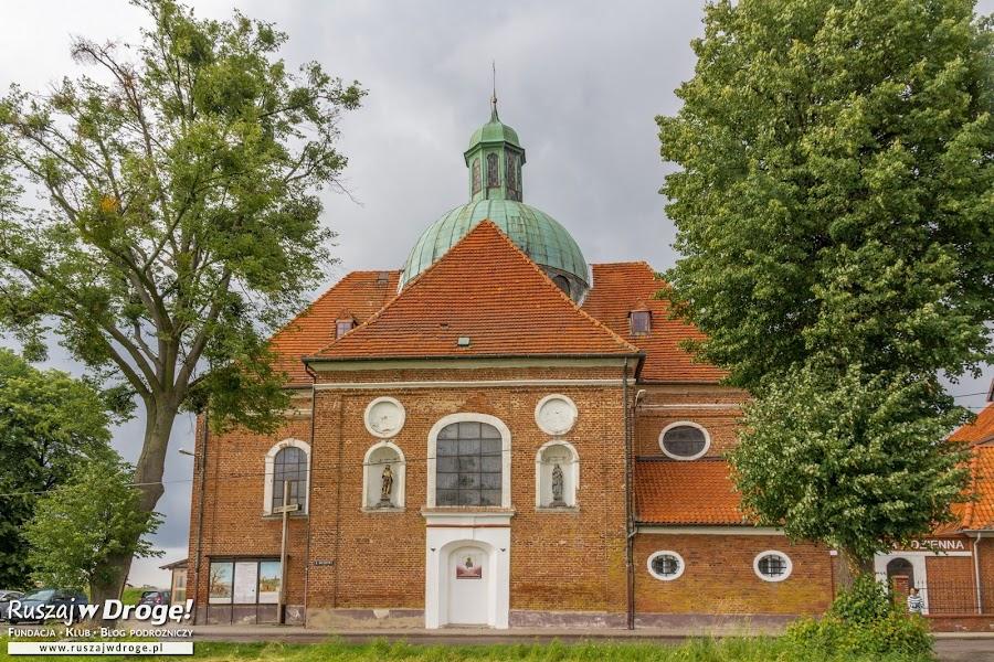 Braniewo budynek sanktuarium