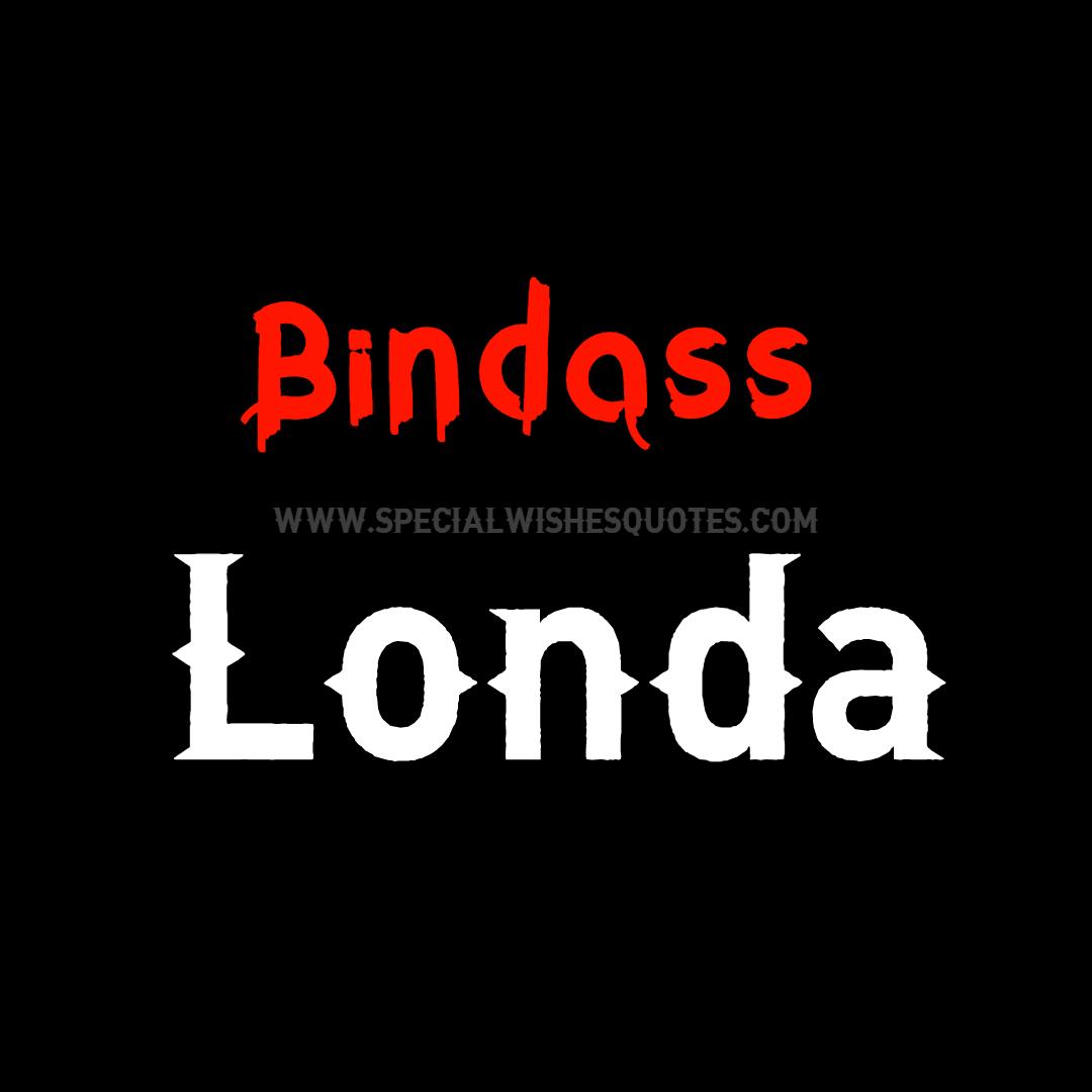 bindass Londa Dp for whatsapp