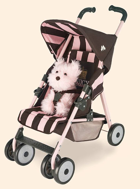 Toys For Strollers : Designer baby juicy couture kids toy stroller
