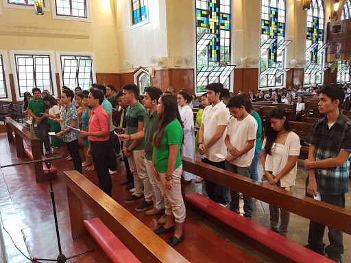 Induction of Church Related Organizations and Student Government Officers