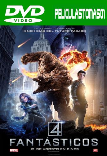 Cuatro Fantásticos (2015) DVDRip