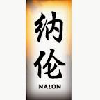 nalon - N Chinese Names Designs