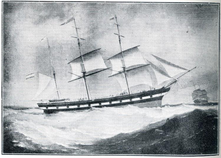 Oleo de la barca TETUAN segun cuadro ingles de autor desconocido. Del libro La Marina Cantabra. Desde el Siglo XVII. Vol. II.jpg
