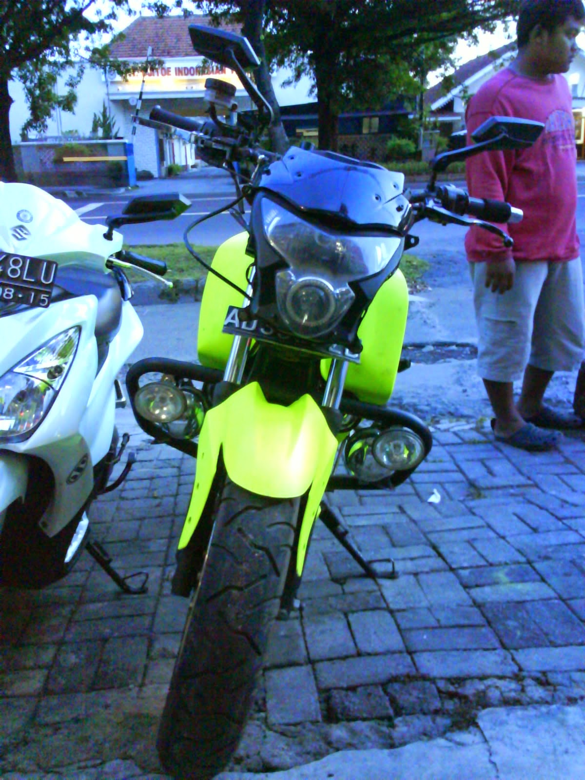 modifikasi byson street fighter