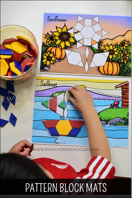 Seasons Themed Pattern Block Mats