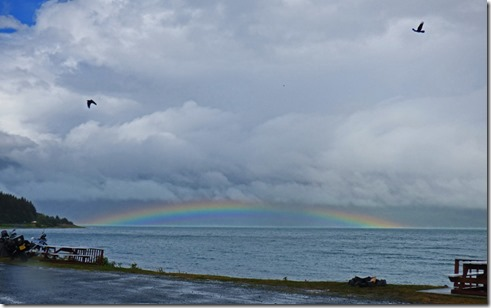 Rainbow in Chilkoot Inlet
