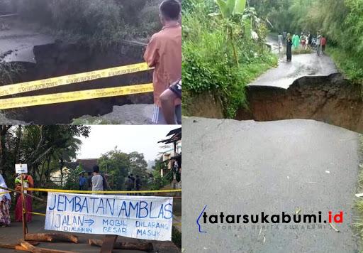 Jalan Terputus di Sukabumi, Iyos Somantri Pastikan Bangun Jembatan Darurat